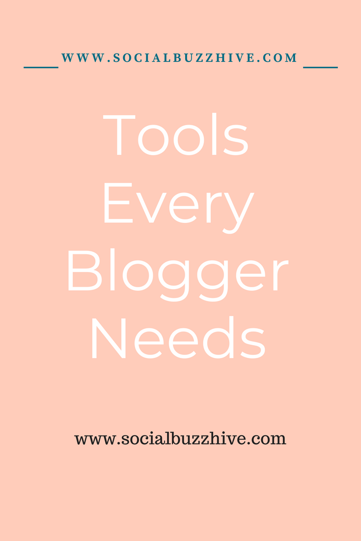 tools every blogger needs pin