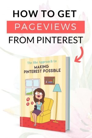 Pinterest pageviews graphic