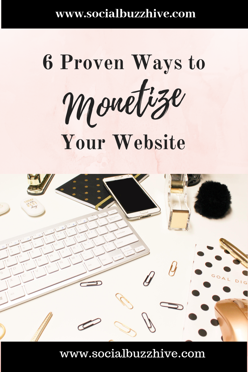 6 proven ways to monetize your blog image