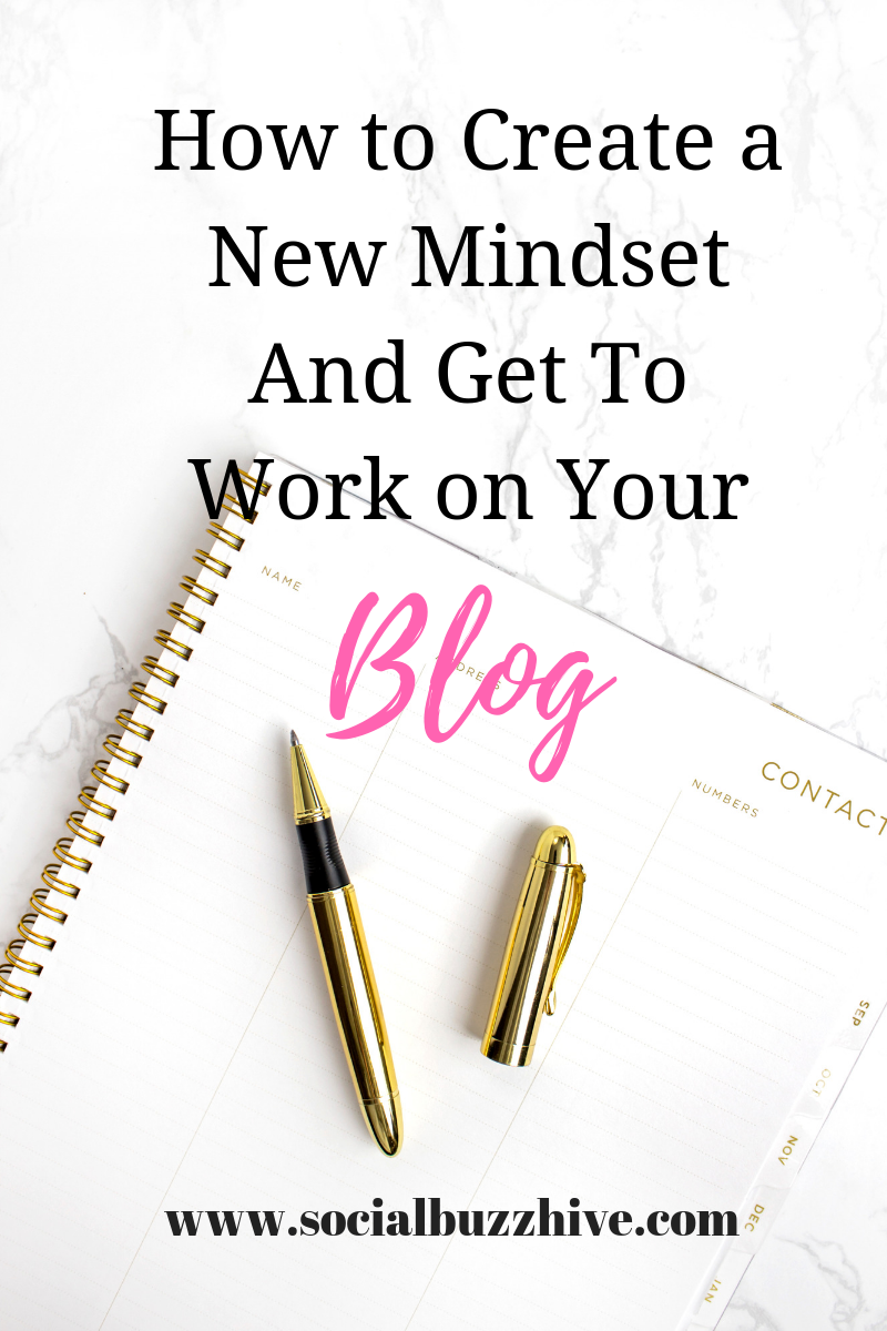Create a new mindset