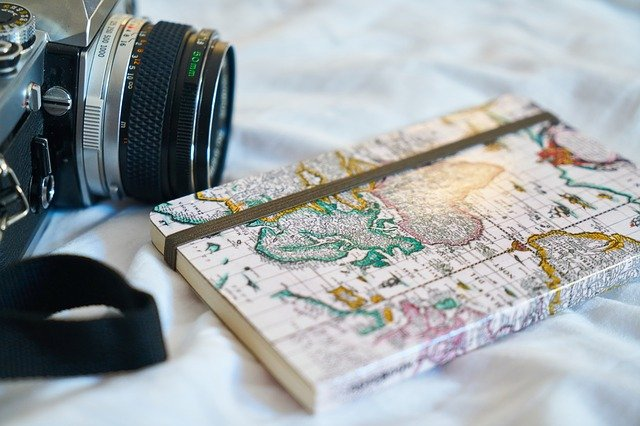 Camera and map book