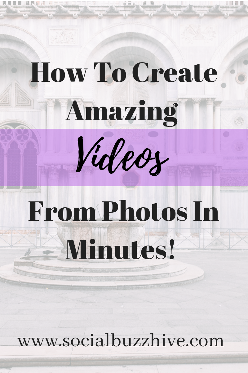 Create videos from photos in minutes