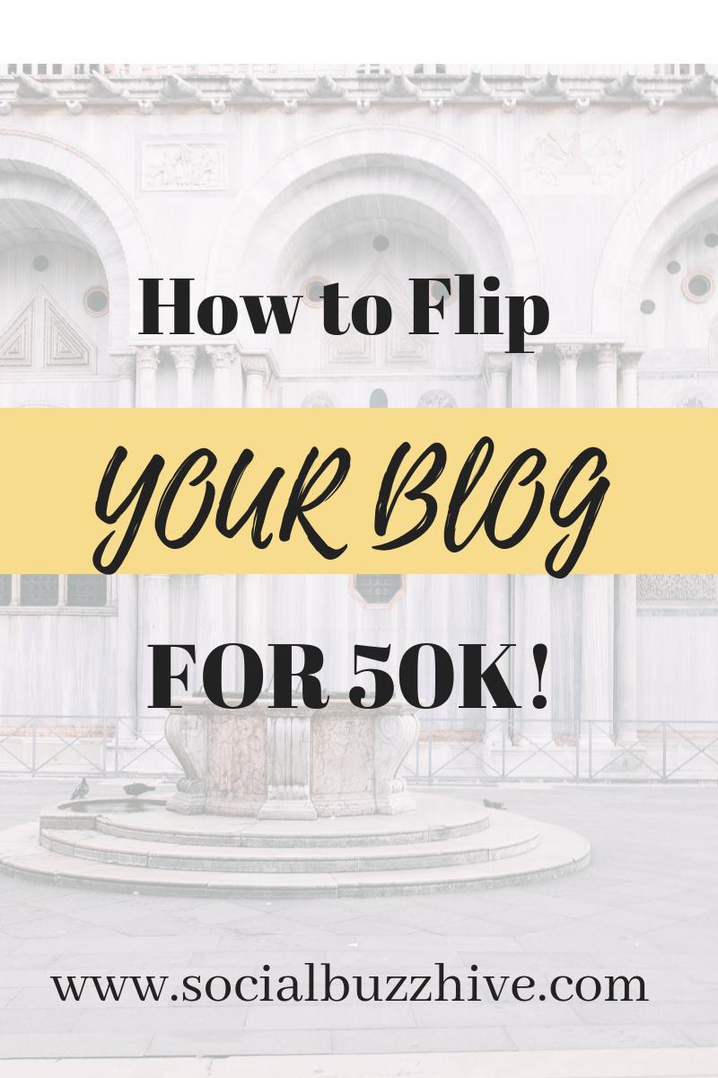 flip blog for 50K