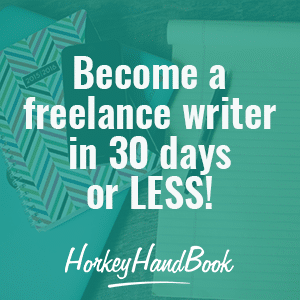 Freelance writer in 30 days