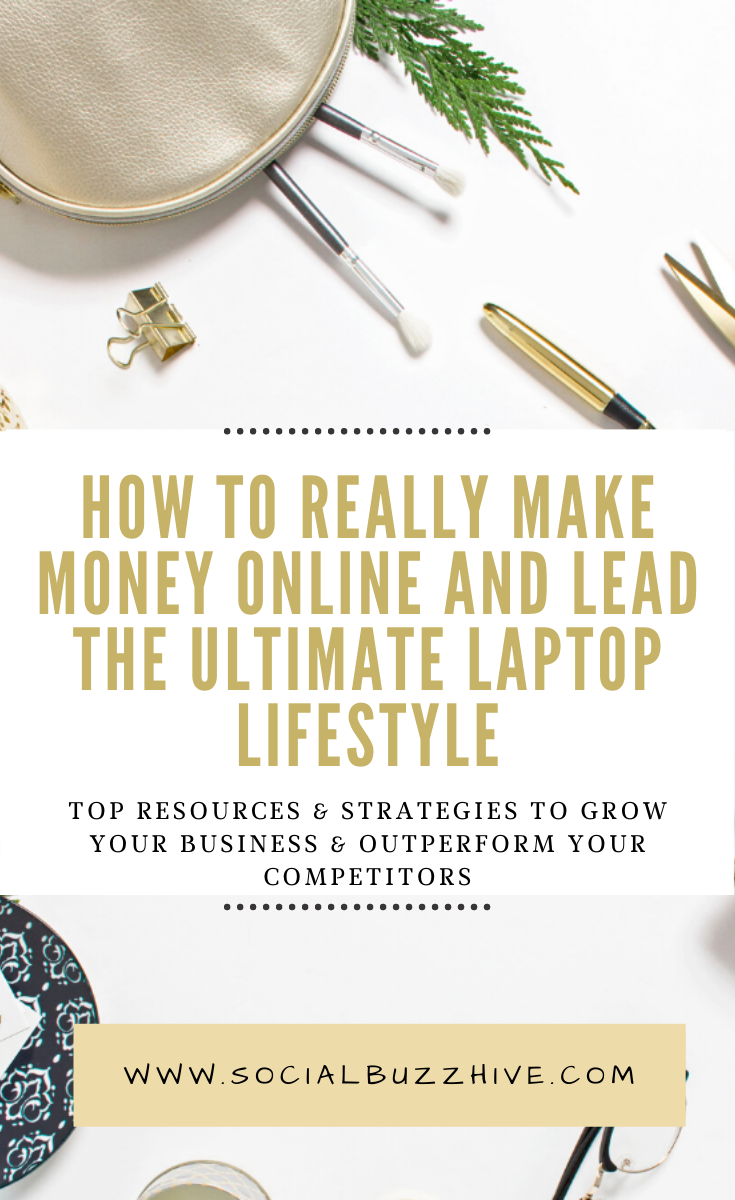 how to lead the ultimate laptop lifestyle and make money online