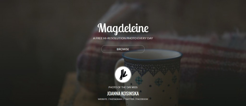 madeleine site