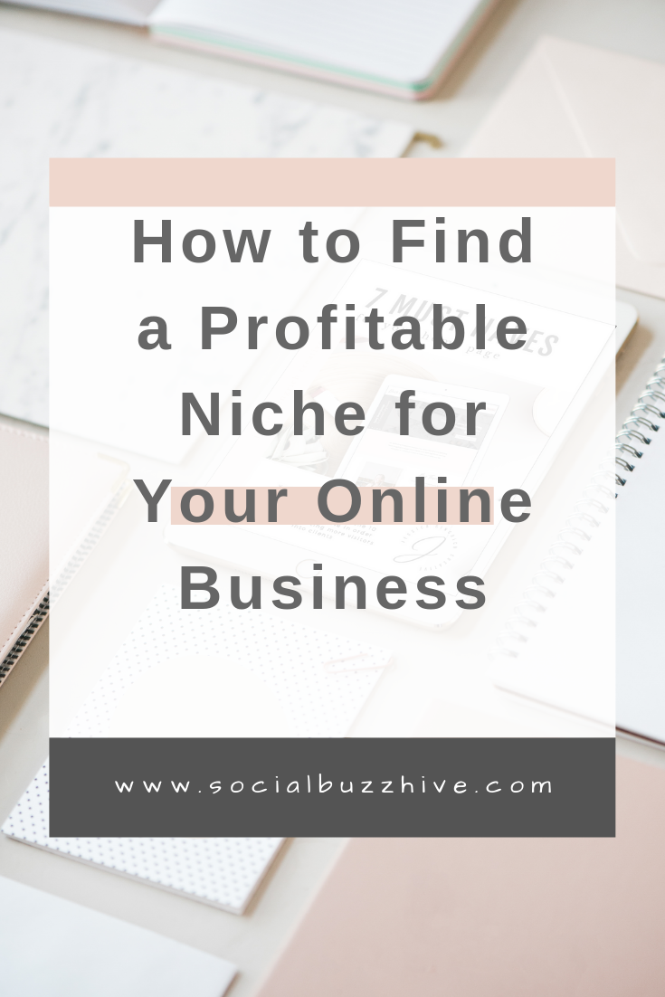 find a profitable niche for your online business