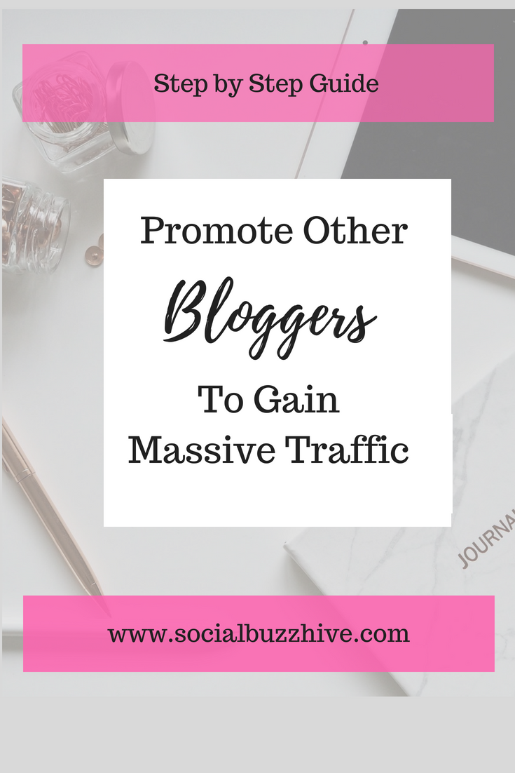 Promote other bloggers image