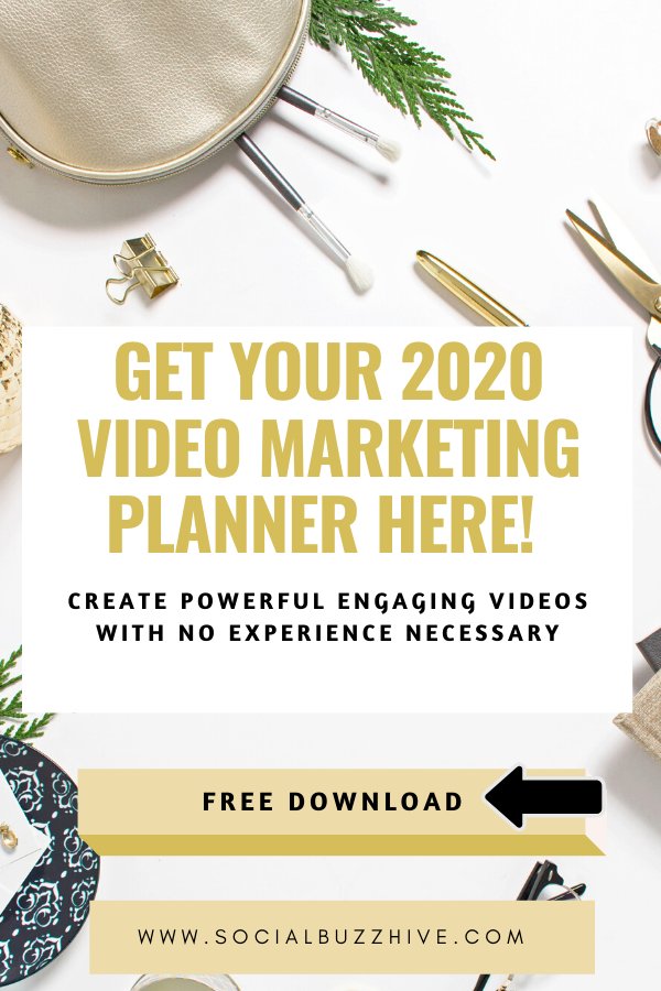 video marketing planner