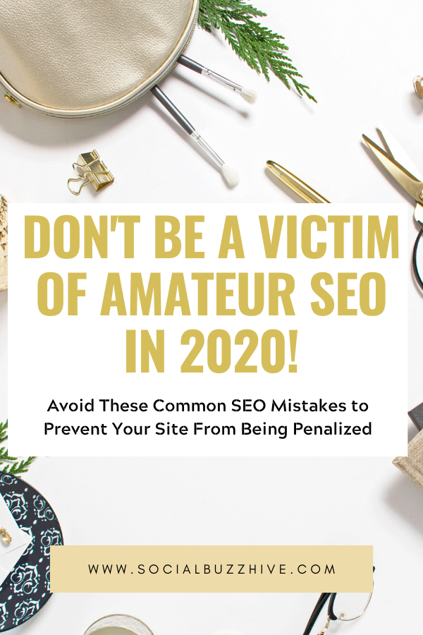 don't be a victim of amateur seo in 2020