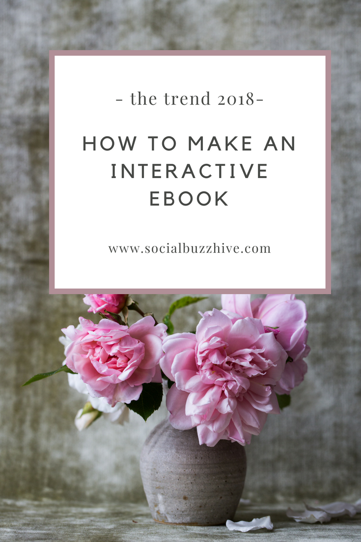 How to Make an Interactive Ebook