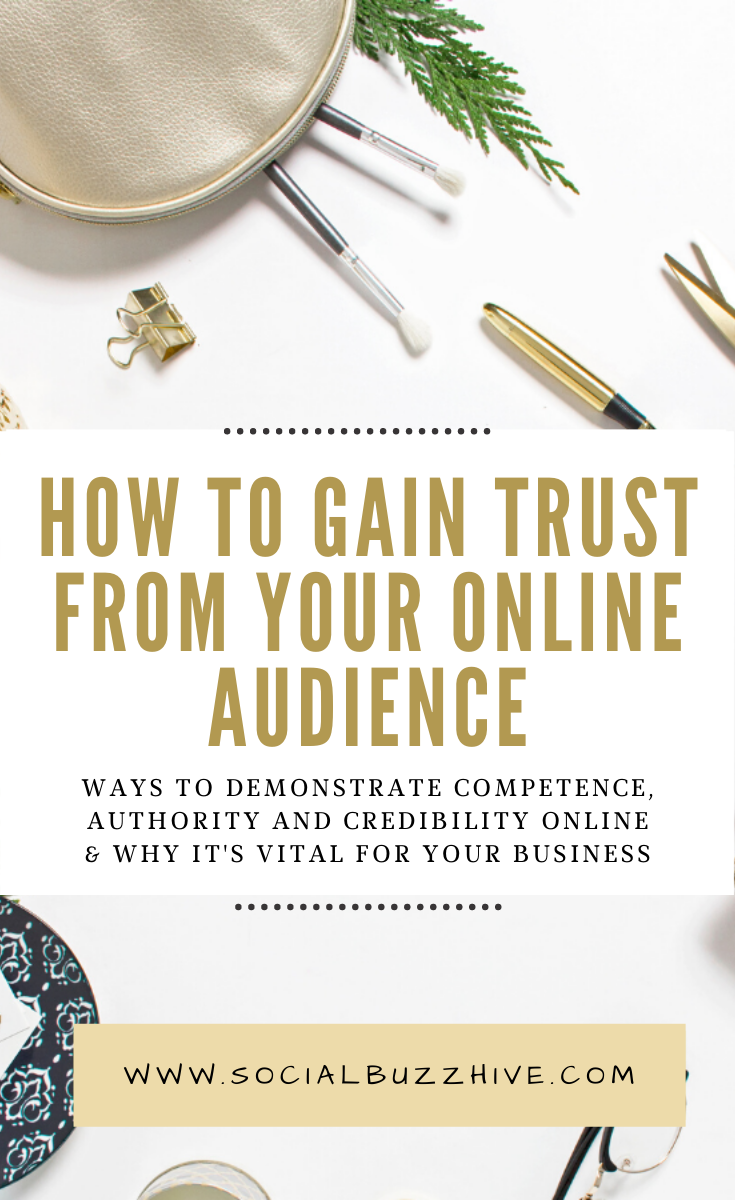 how to gain trust from your online audience
