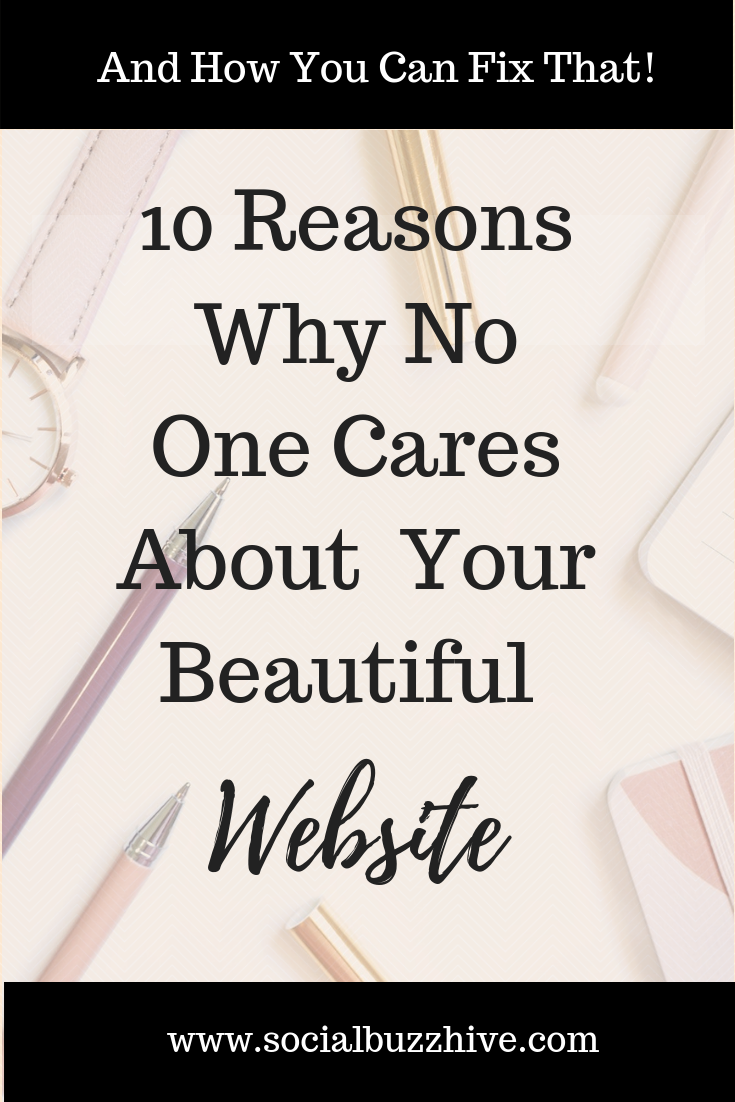 10 Reasons why no one cares about your beautiful website image