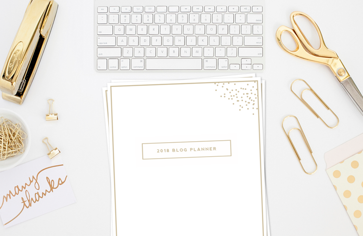 Designer Blog Planner Image