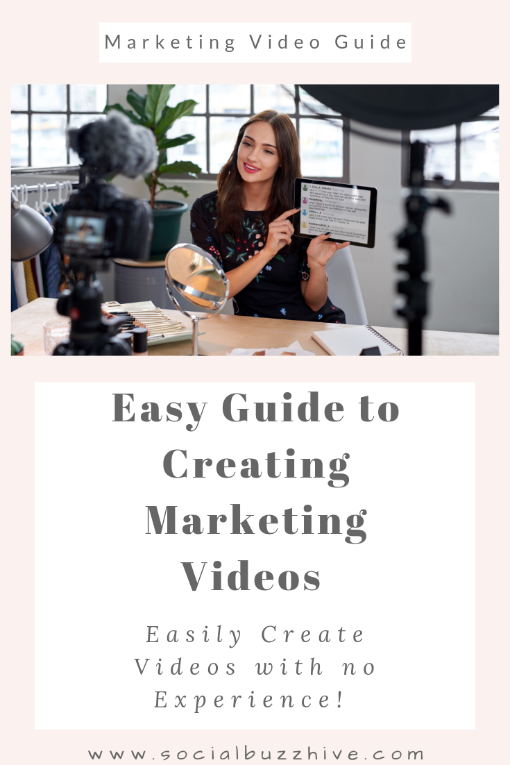 easy guide to creating marketing videos