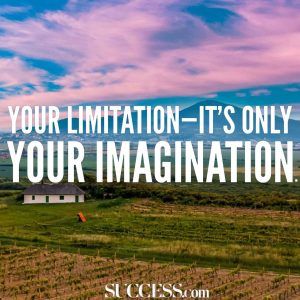 limitation is imagination