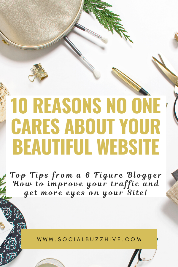 10 reasons no one cares about your website