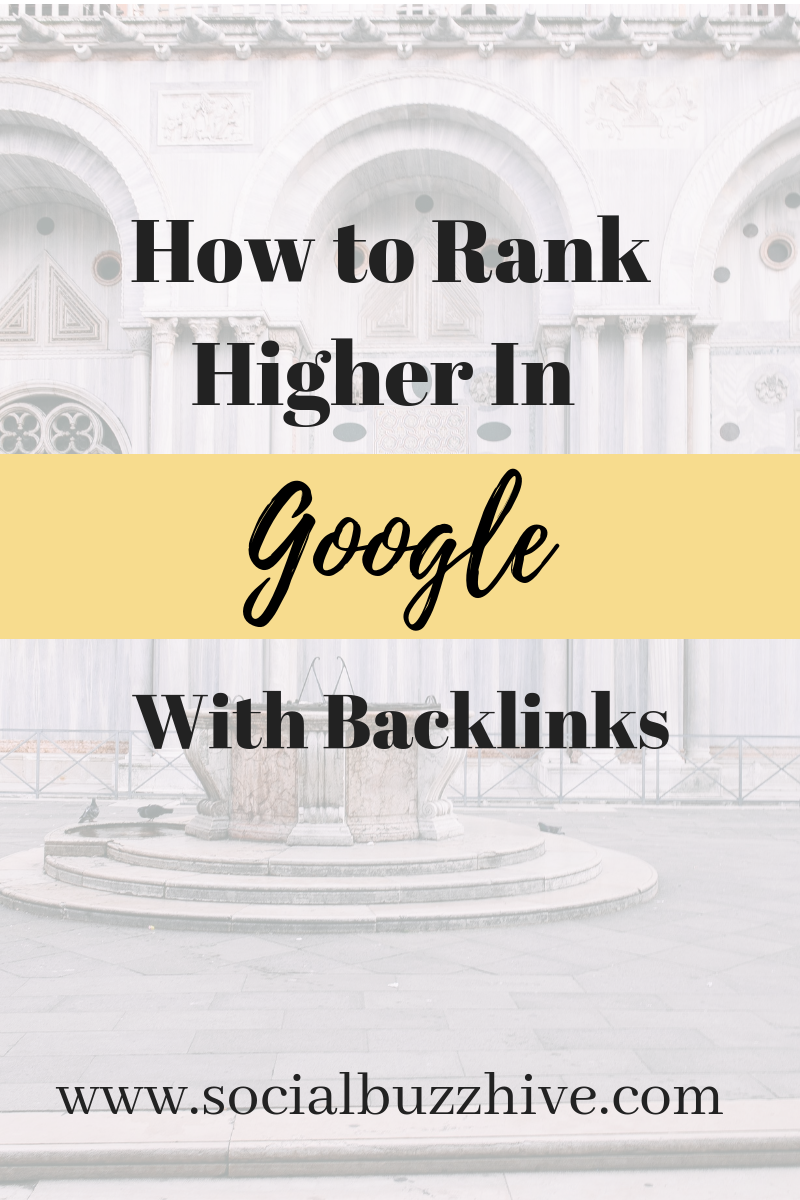 how to rank higher in google with backlinks image