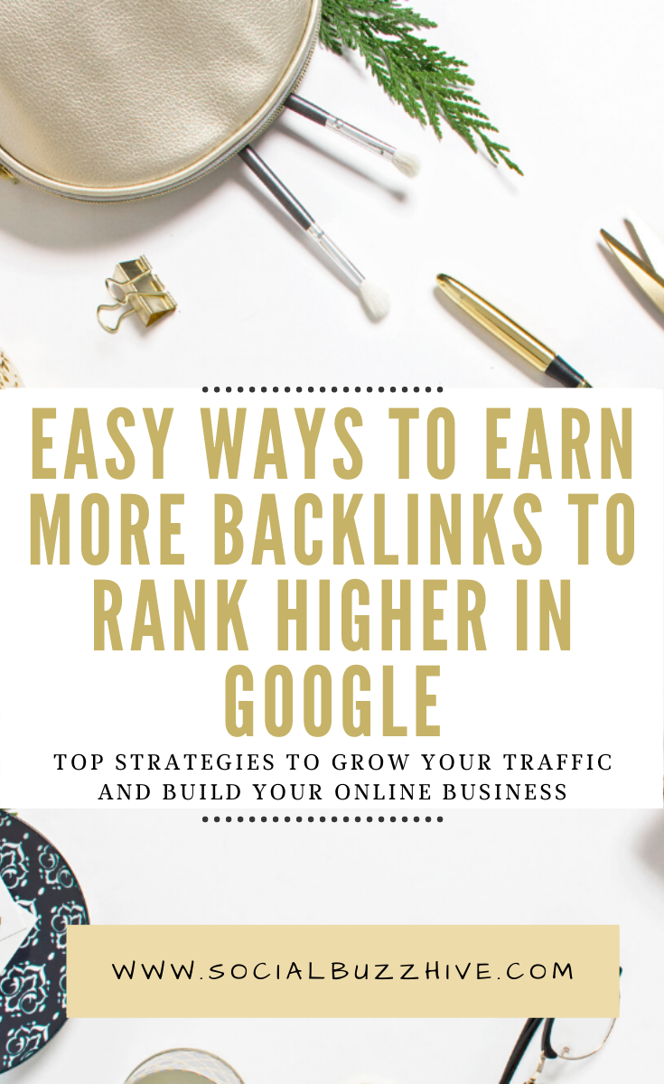 simple ways to earn more backlinks to rank higher in google