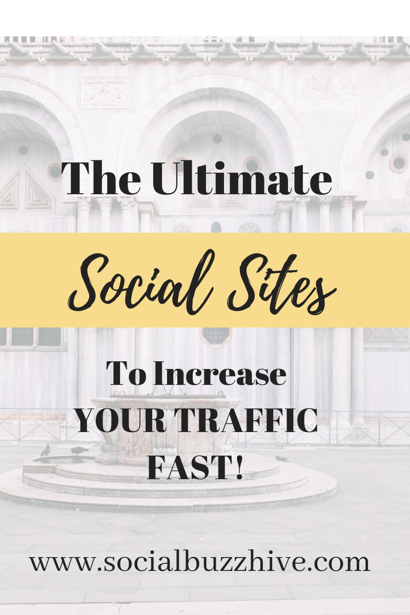 ultimate social sites to increase traffic image