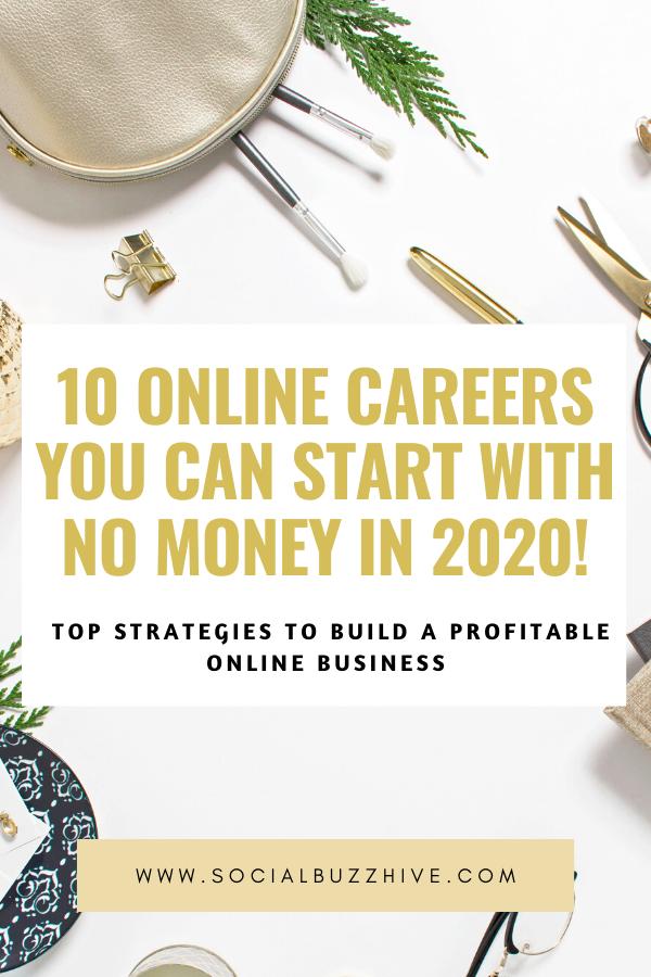 10 online careers in 2020