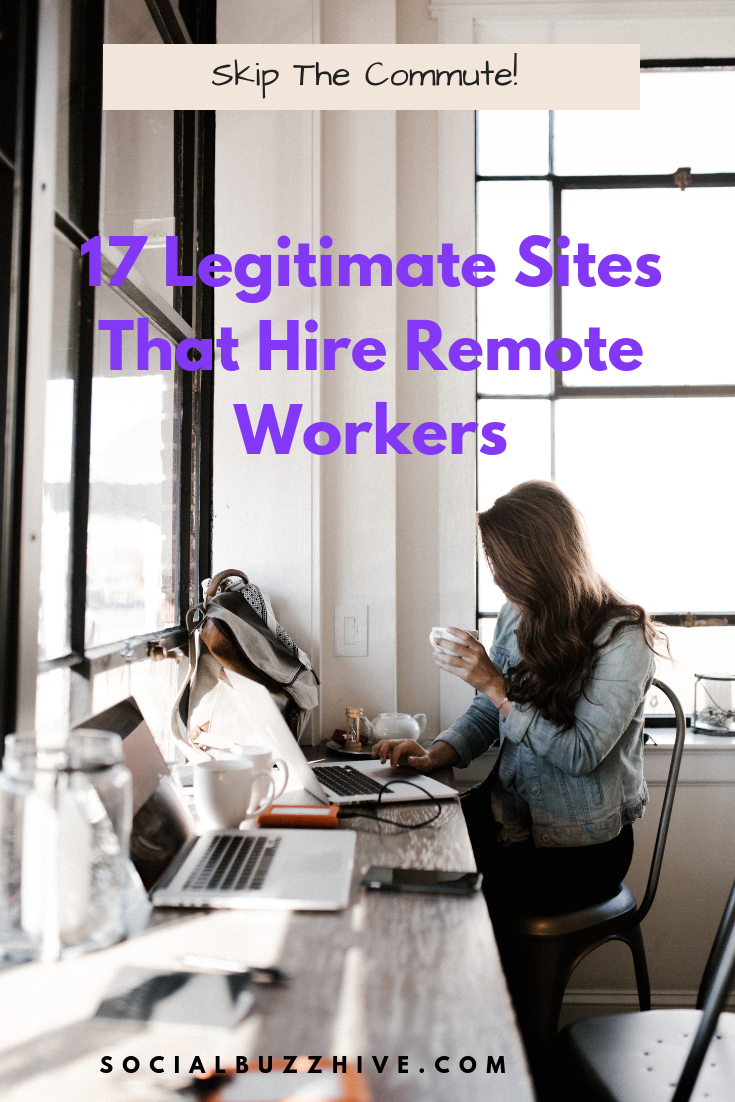 17 Sites That Hire Remote Workers