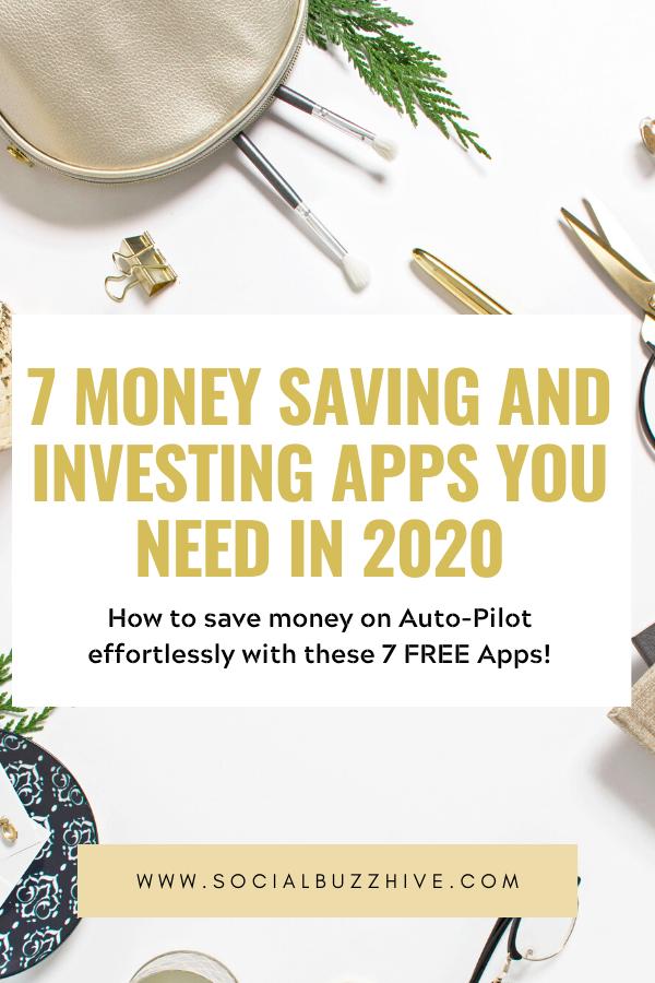 7 money saving apps
