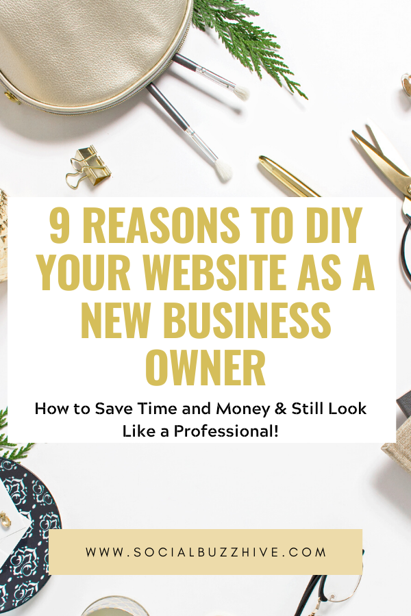 9 reasons to diy your website