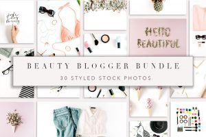 beauty blogger bundle creative market