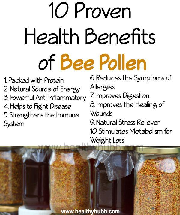 bee pollen benefits image