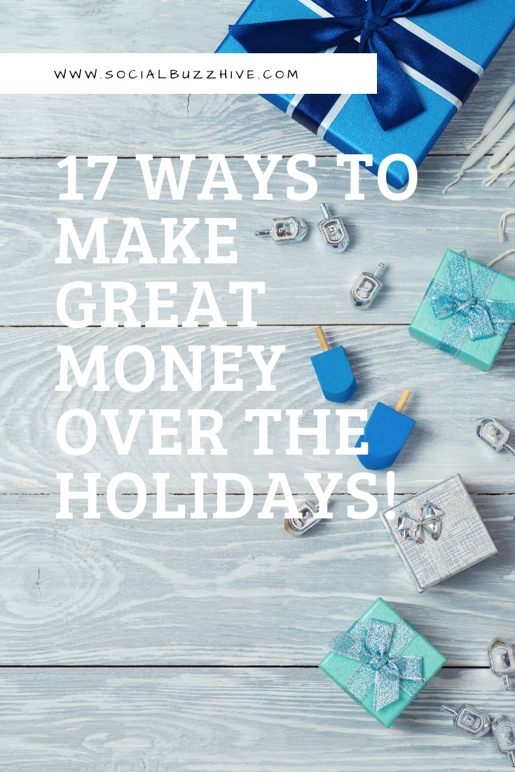 17 ways to earn money over the holidays