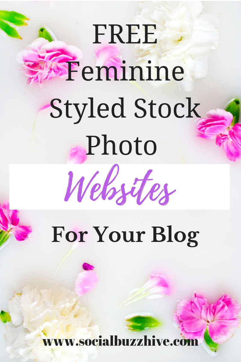 free feminine styled stock websites