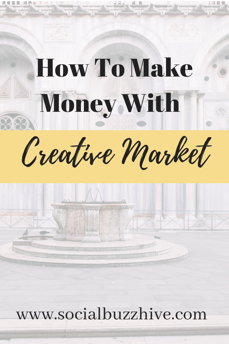 How to make money with creative market