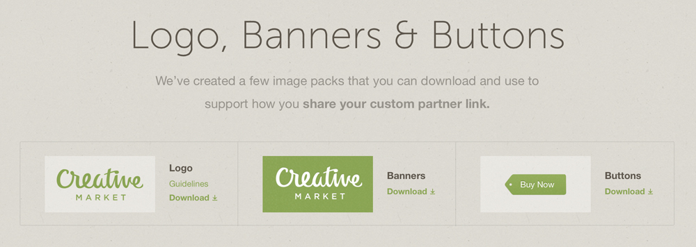 How To Earn Money With The Creative Market Partner Program