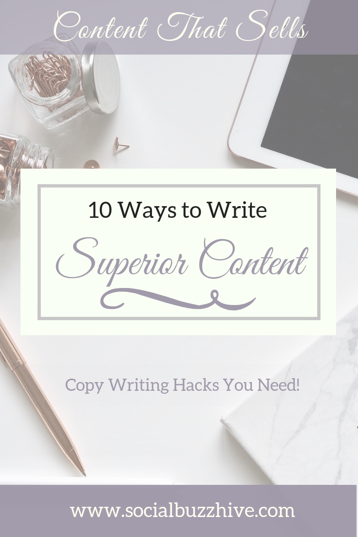 Copy Writing Hacks you need
