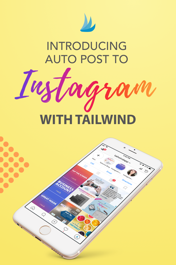 Tailwind for instagram