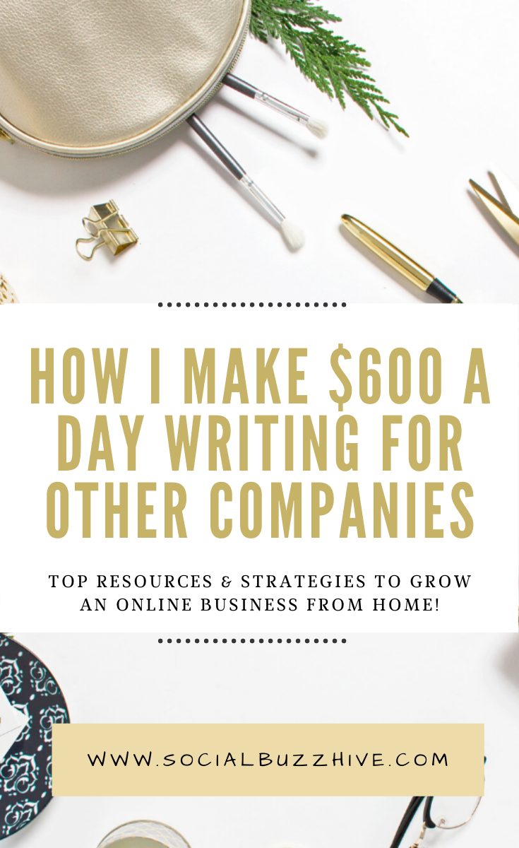 how i make $600 a day blogging from home