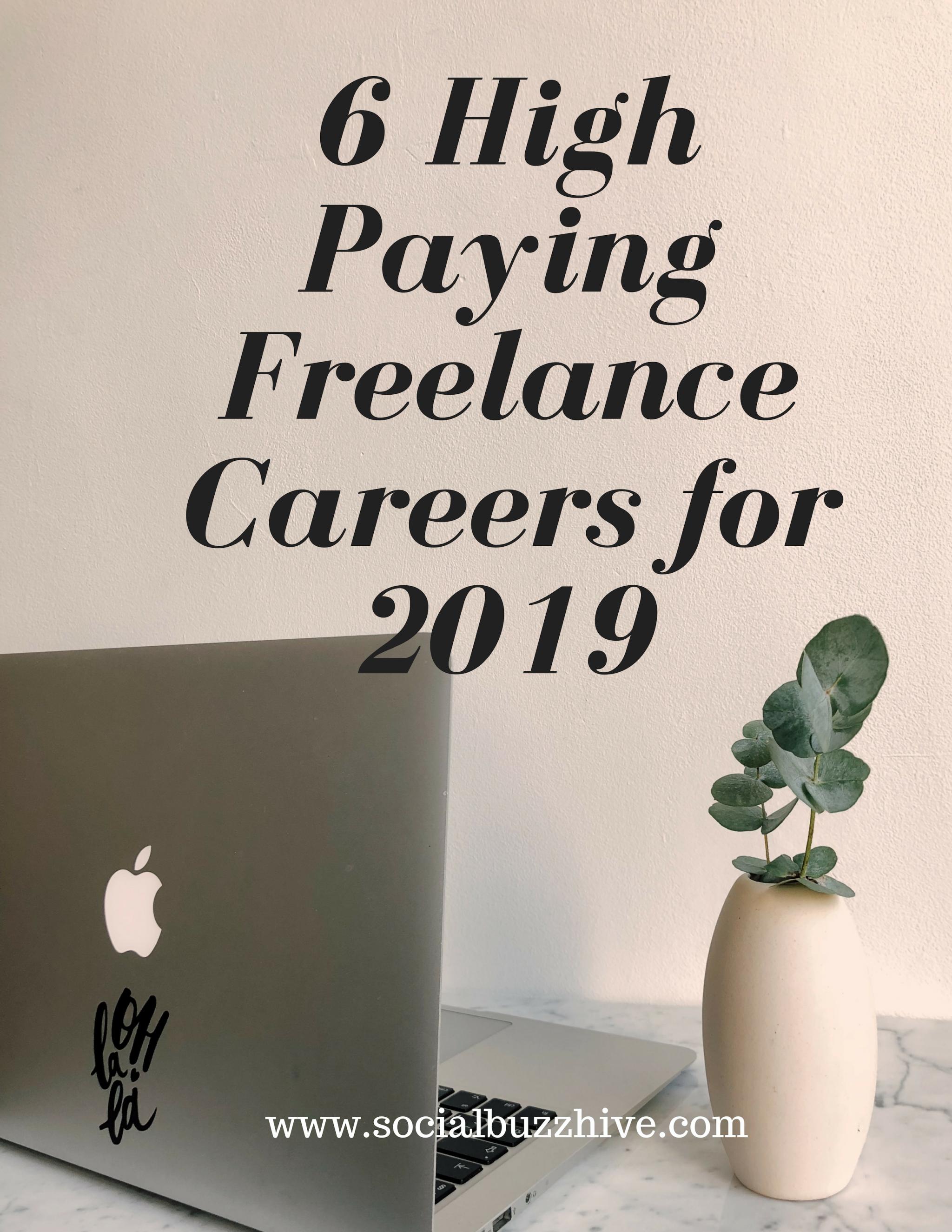 6 freelance careers