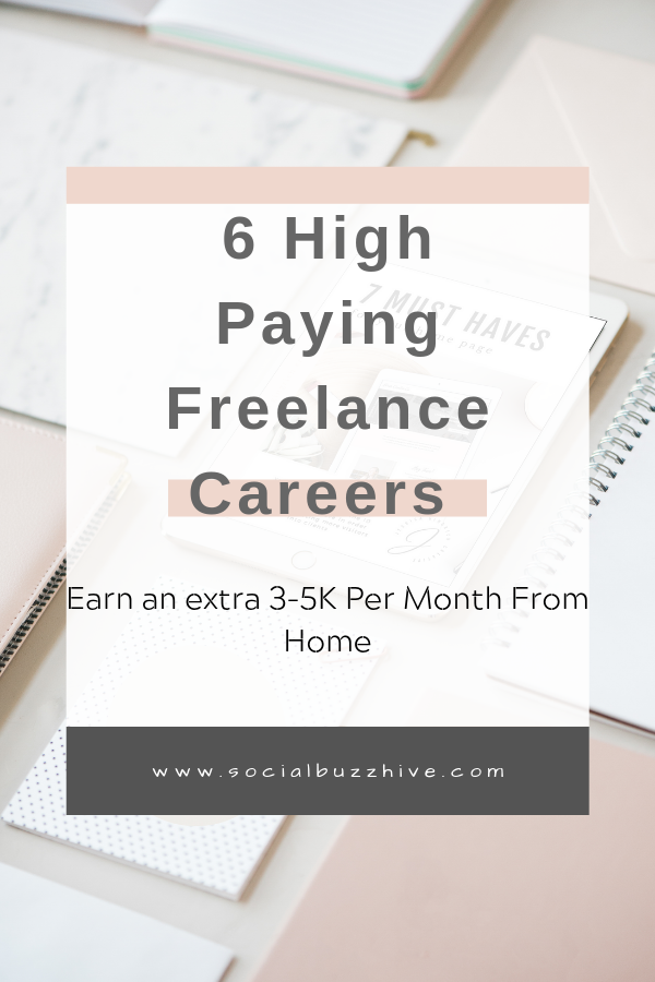 6 high paying freelance careers