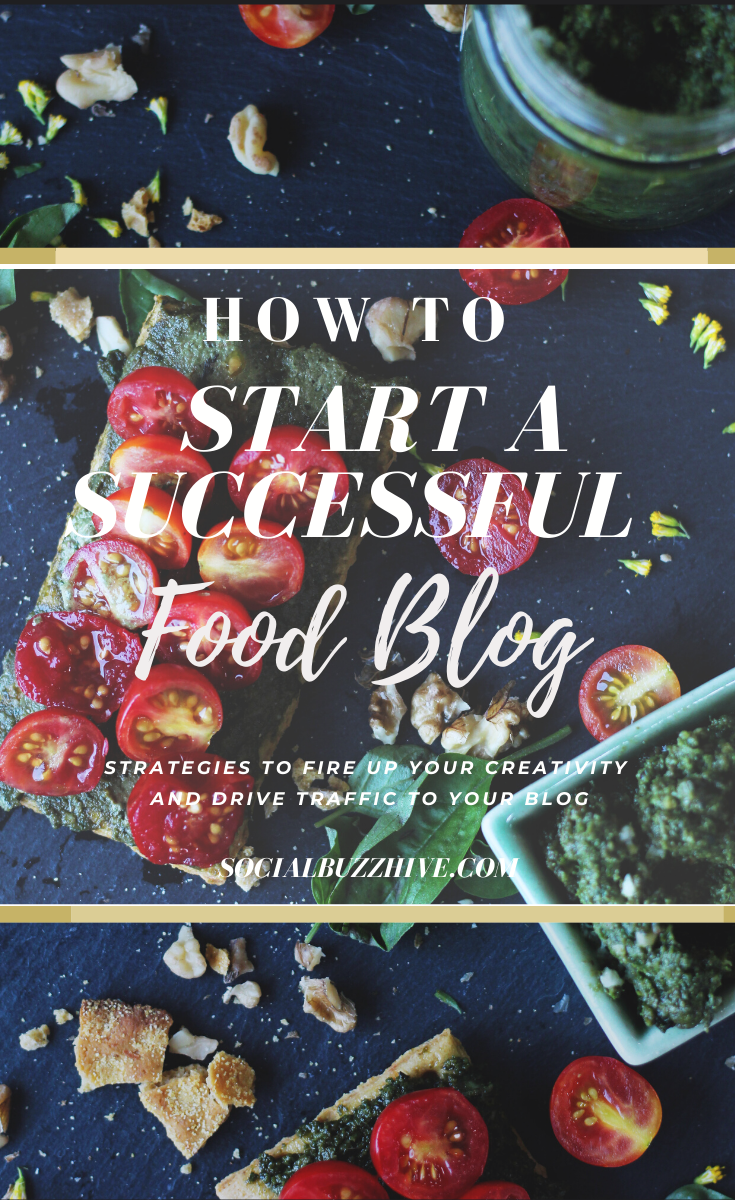 how to start a successful food blog