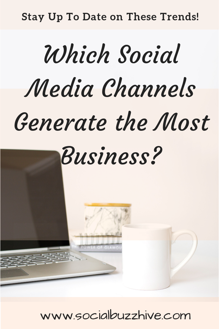 which social media channels
