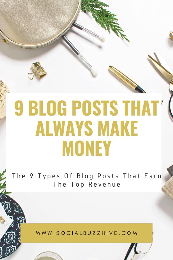 9 blog posts that always make money