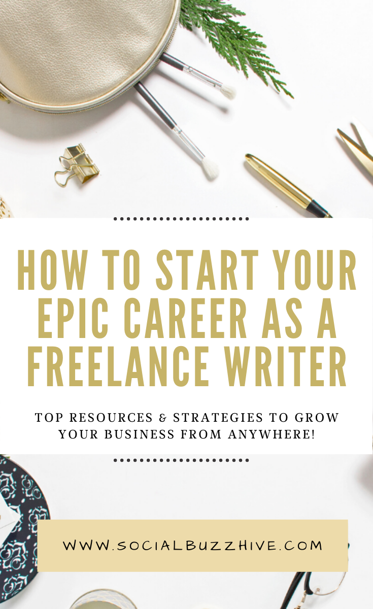 start epic career as freelance writer