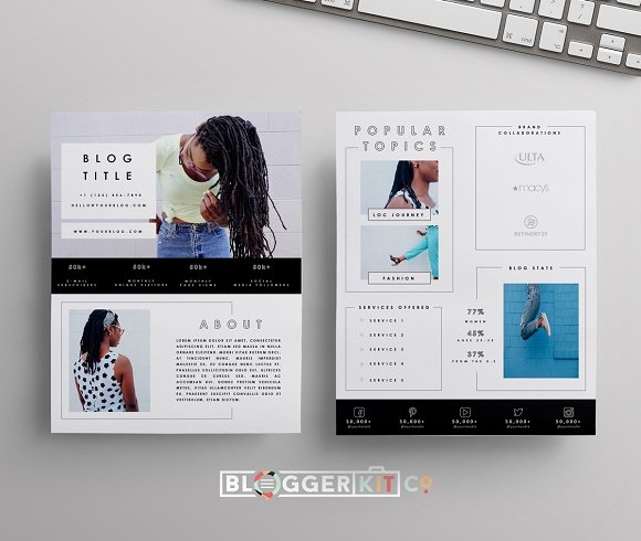 creative market template