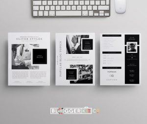 blogger media kit menswear