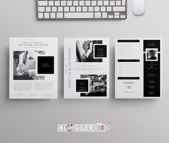 blogger menswear creative market