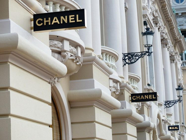 Chanel store front