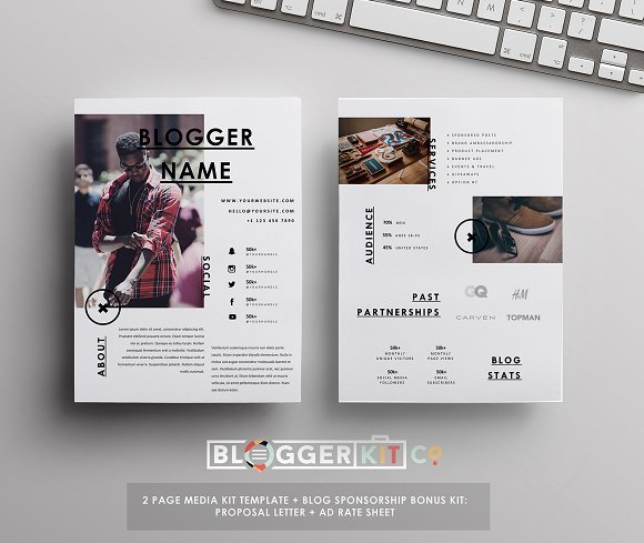 blogger kit co