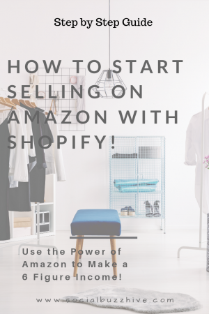 How to sell on amazon with Shopify