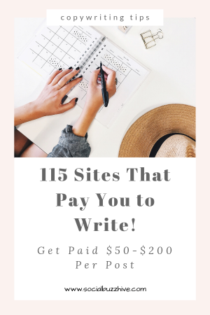 115 Sites That Pay You to Write!